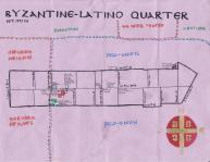 Oil (and olive oil stain) map of the Byzantine-Latino Quarter, 2013 -- California Fool's Gold -- Exploring The Byzantine-Latino Quarter