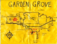 Ink map of Fullerton, 2010 -- California Fool's Gold — Exploring Fullerton, The Education Community