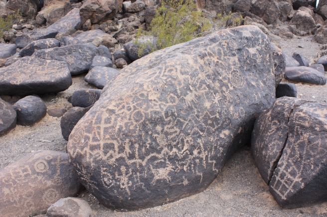 Painted Rocks Petroglyphs (Image source: Shereth)