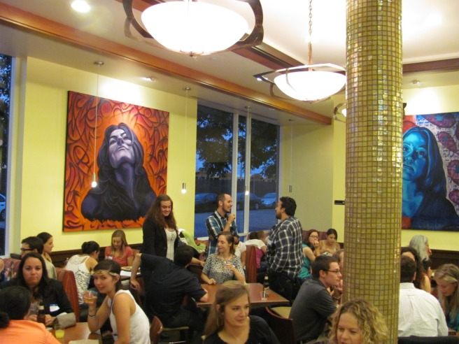 Inside Homegirl Cafe (image source: Inside JVC)