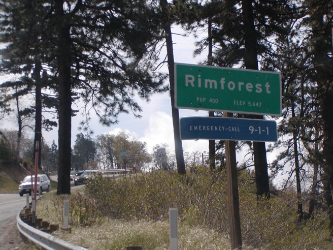Rimforest sign (Image source: Raymond Yu)