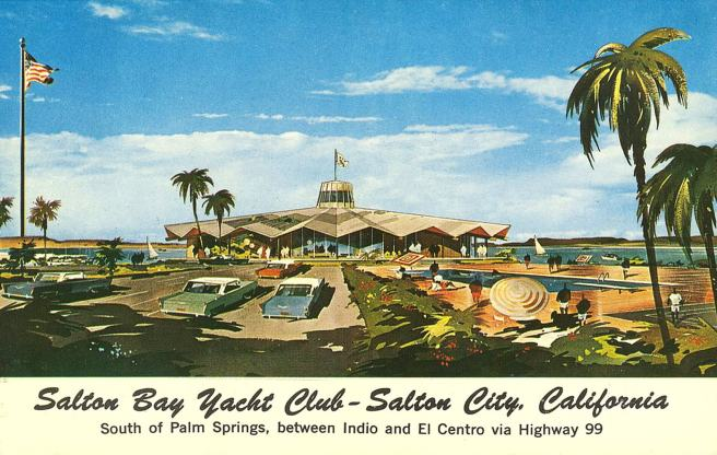 Salton City Postcard from the 1960s