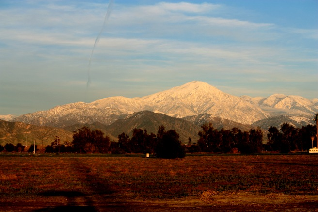 San Bernardino Mountains (Image source: orange grove media )