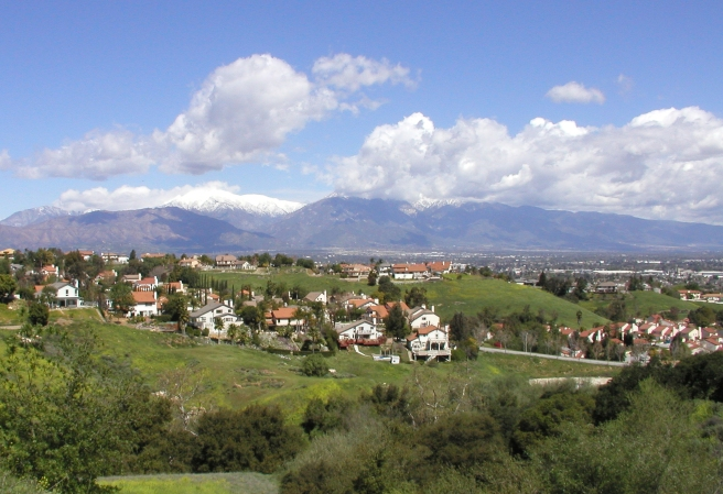 Photo of the City of Chino Hills on a clear day (Image source: Chino Hills)