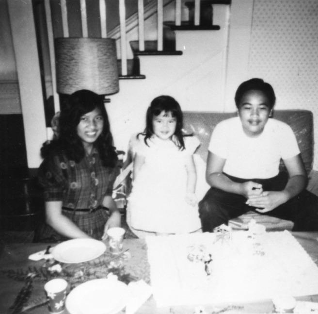 Hawaiian children at home, c. 1961 (Image source: LAPL)