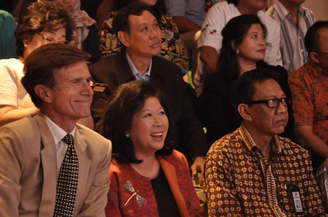 Varied reactions to a Los Angeles Indonesian Film Festival screening (Image source: The @America Center)