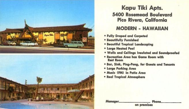 Kapu Tiki Apts. in Pico Rivera