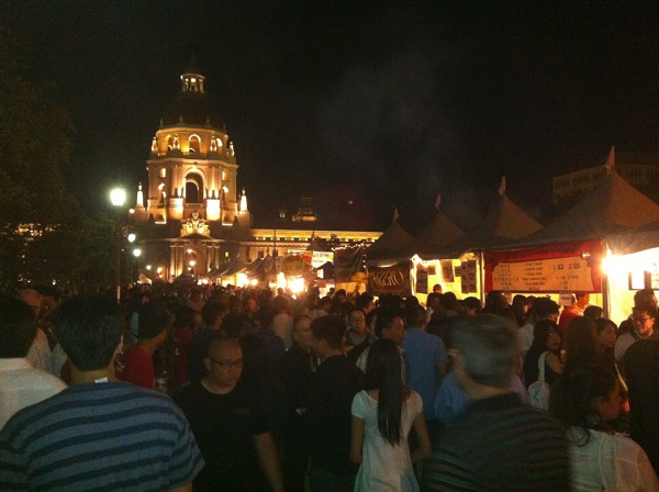 The second 626 Night Market, in Pasadena's Civic Center