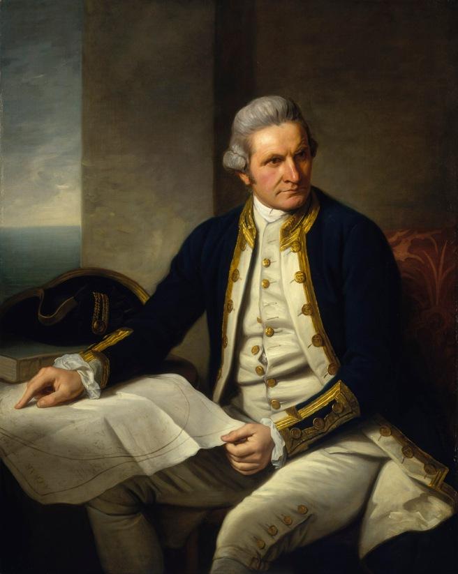 Captain James Cook (1728-1779). Nathaniel Dance.