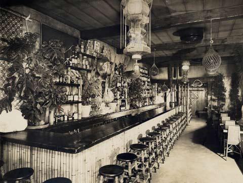 Interior of Don the Beachcomber