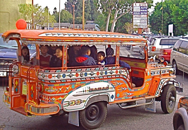 Filipinotown PWC Jeepney (Image source: Wapacman)