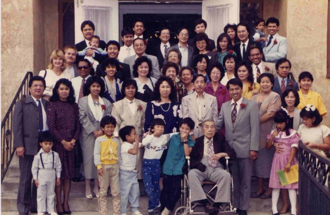 The congregation of First Indonesian Baptist Church in the early 1980s (Image source: FIBC)