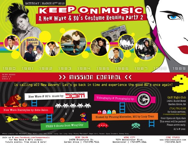 Keep on Music flyer