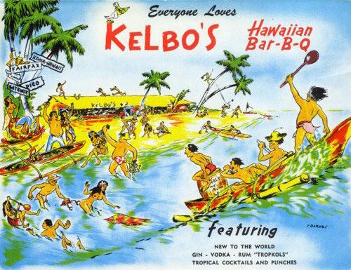 Kelbo's Postcard (Image source: Old LA Restaurants)