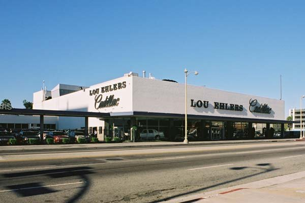 Lou Ehlers Cadillac (demolished) (Los Angeles Conservancy)