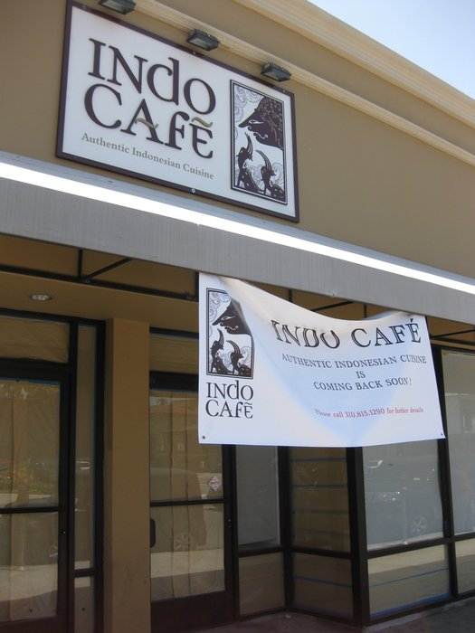 Indo Café is coming back soon (Image source: Joan