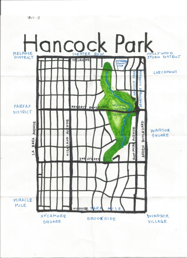 Pendersleigh & Sons Cartography's map of Hancock Park