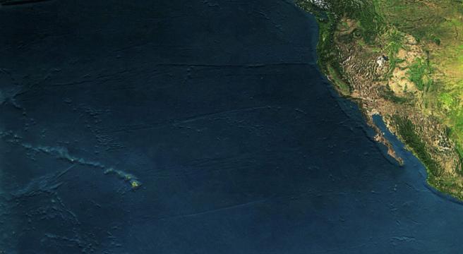 Hawaii and California