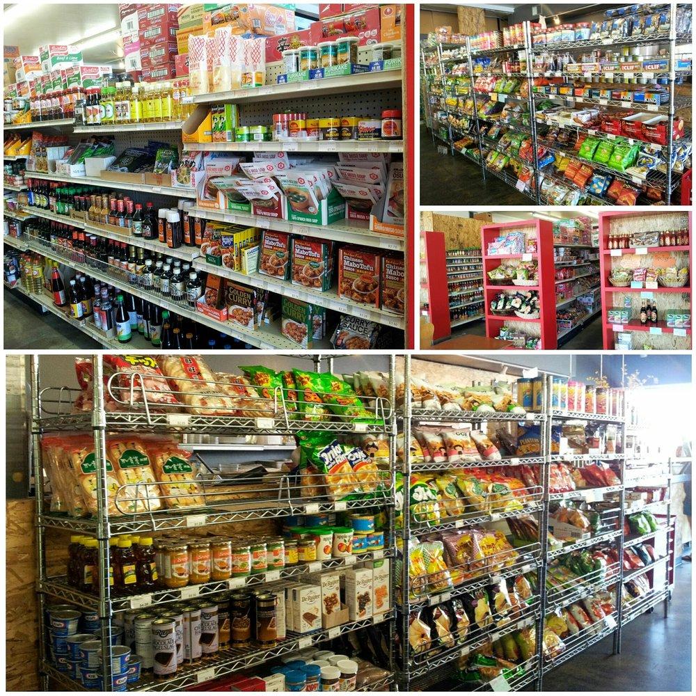 The shelves of Simpang Asia in Palms (Image source: Simpang Asia)