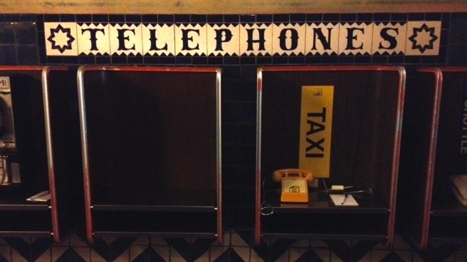 Telephones -- sort of the olde tymey version of texting