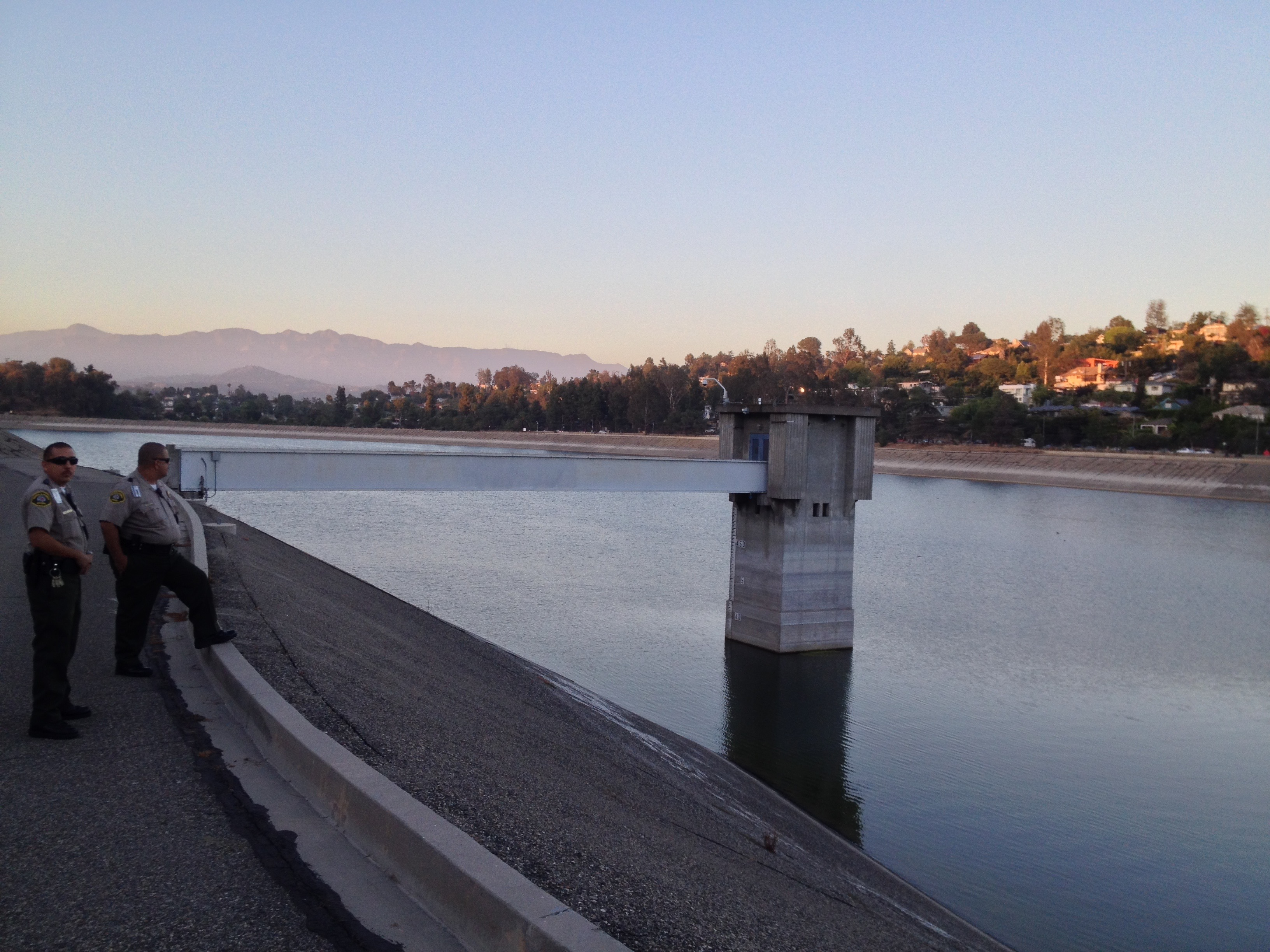 The Silver Lake South Outlet Chlorination Station