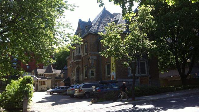 Castle-like McGill Newman Centre Catholique