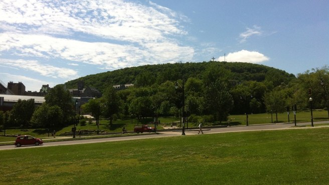 THE Mont Royal that Montréal is named after... Located in the huge, Frederick Olmstead-designed Parc du Mont-Royal ...and
