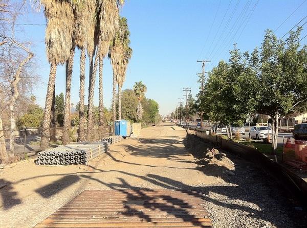Close to Duarte Station