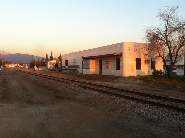 Azusa Station - built in 1888 then remodeled in 1946