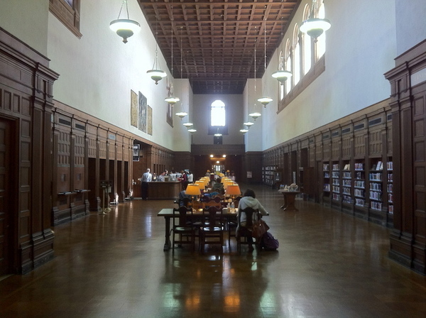 Inside Pasadena's Central Library