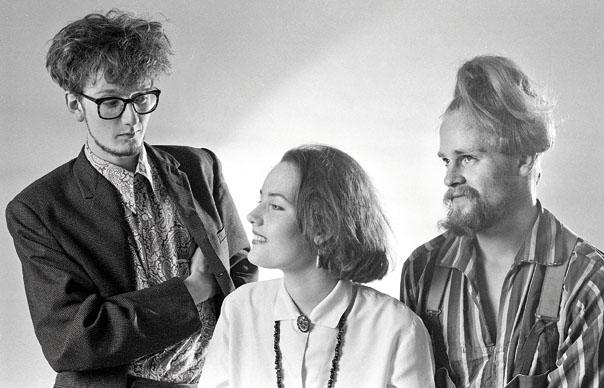 Jarvis, Saskia Cocker, and Timm Allcard, c. 1983