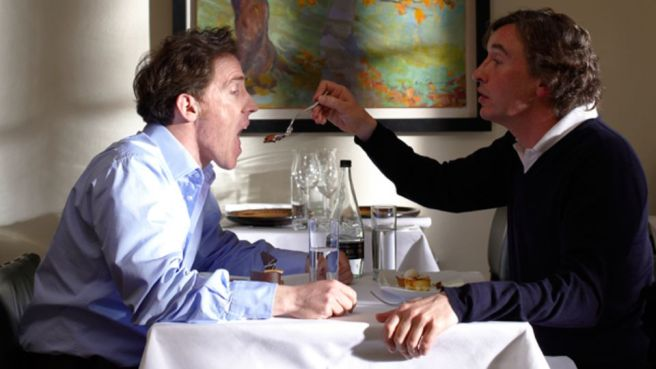 The Trip, in which Steve Coogan and Rob Brydon eat their way across Northern England.