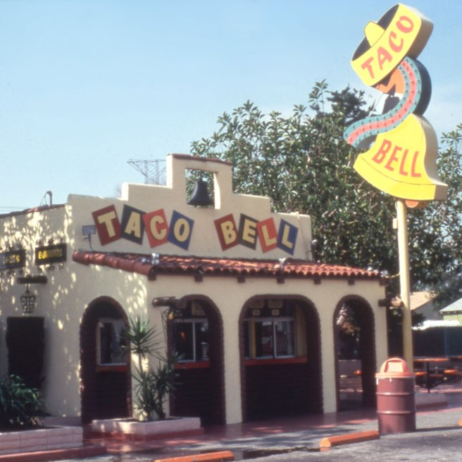 First Taco Bell (Image source: )