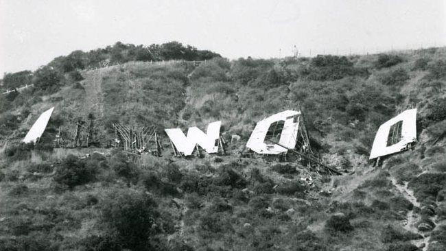 Old Hollywood Sign