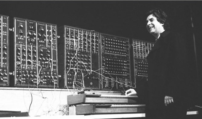 Paul Beaver and his Moog