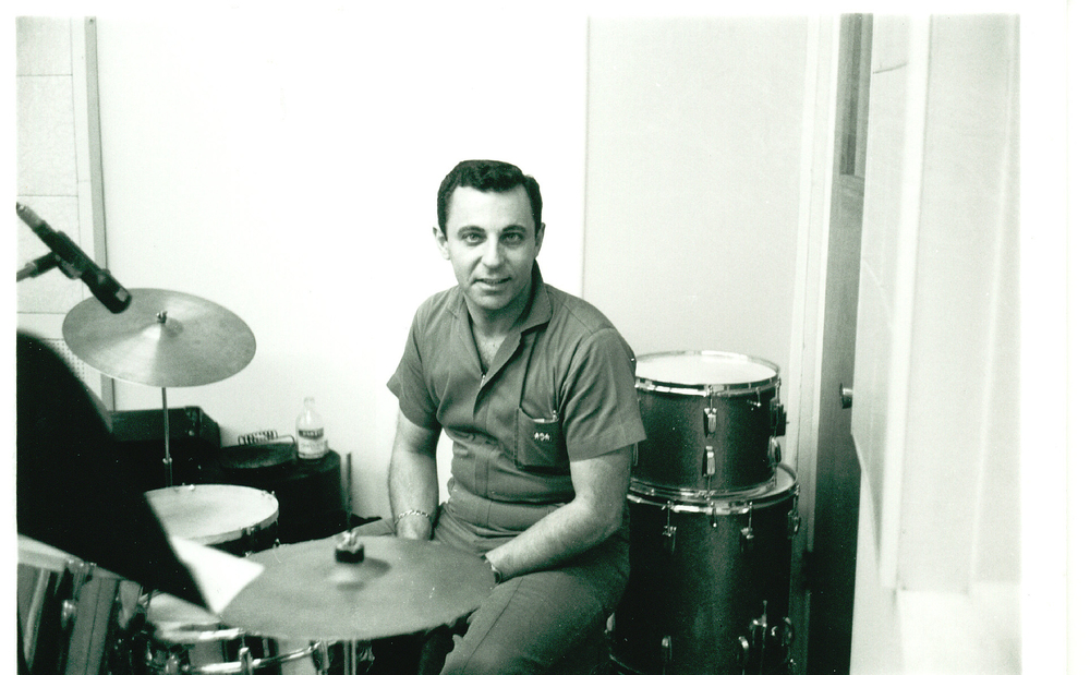 Hal Blaine and his drums