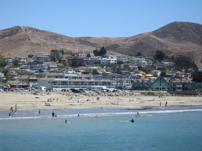 Cayucos_CA_-_beach