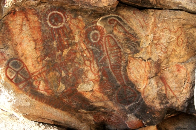 indian-rock-art-pictographs