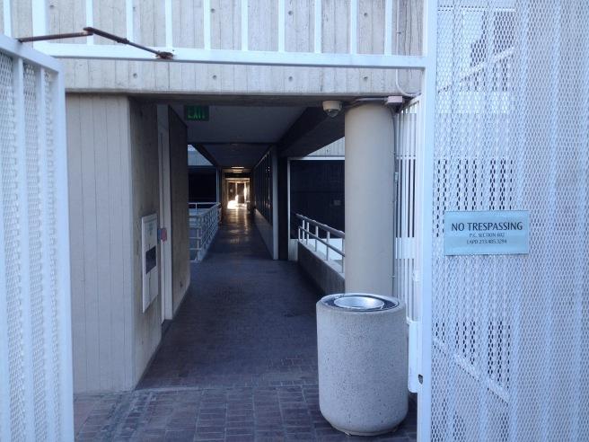 Inside Figueroa Courtyard