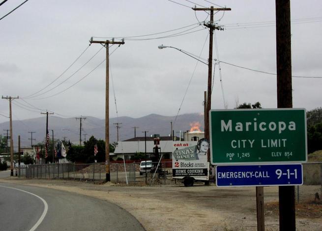 MaricopaWithGasFlare