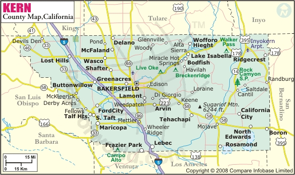 Kern-County-Map
