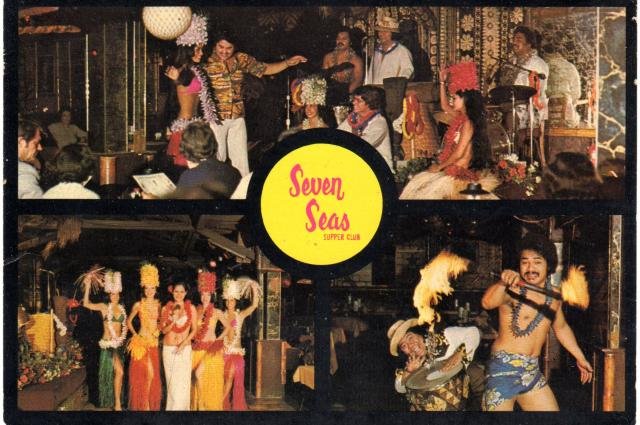 Seven Seas Postcard