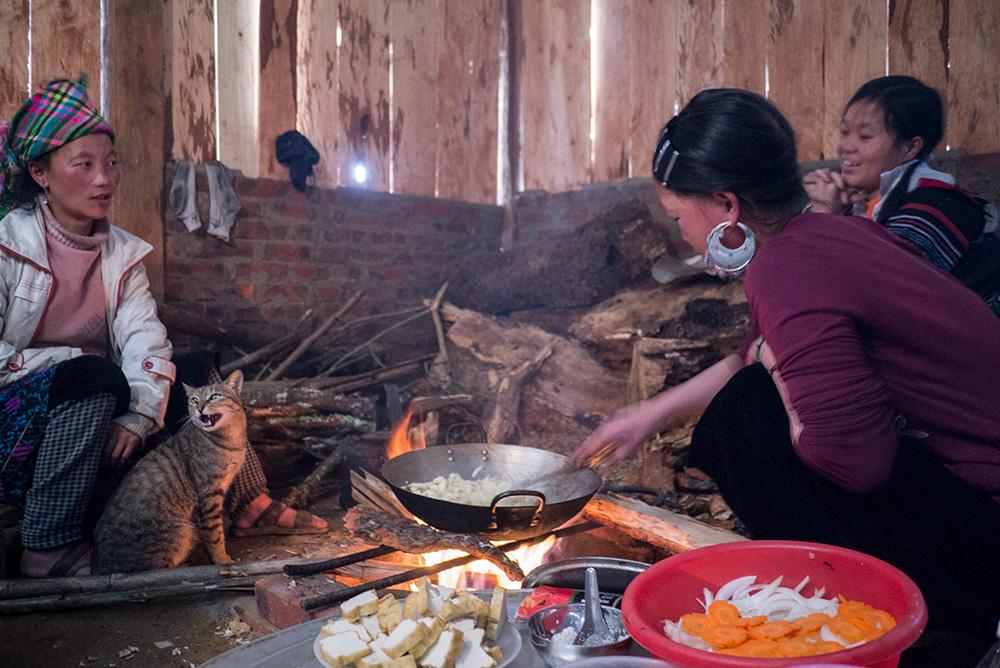 hmong-village-house