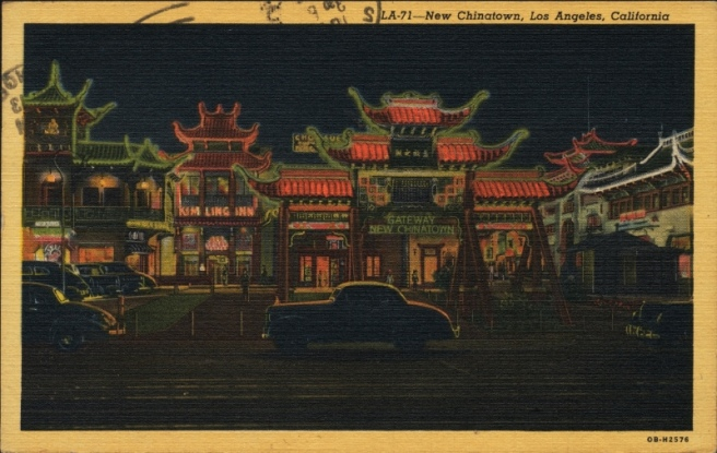NEw Chinatown postcard