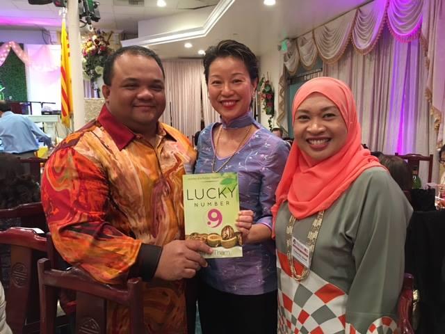 Raja S. Ridzuwan, Consulate-General of Malaysia LA & his spouse, Zalina Md. Daud 02.27.2016