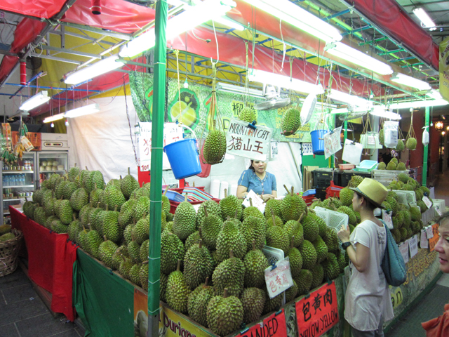 Singapore-The-King-of-Durian-Stand