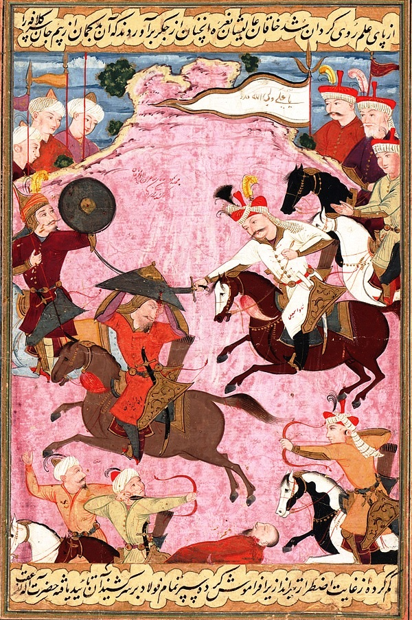 The_Battle_between_Shah_Ismail_and_Shaybani_Khan