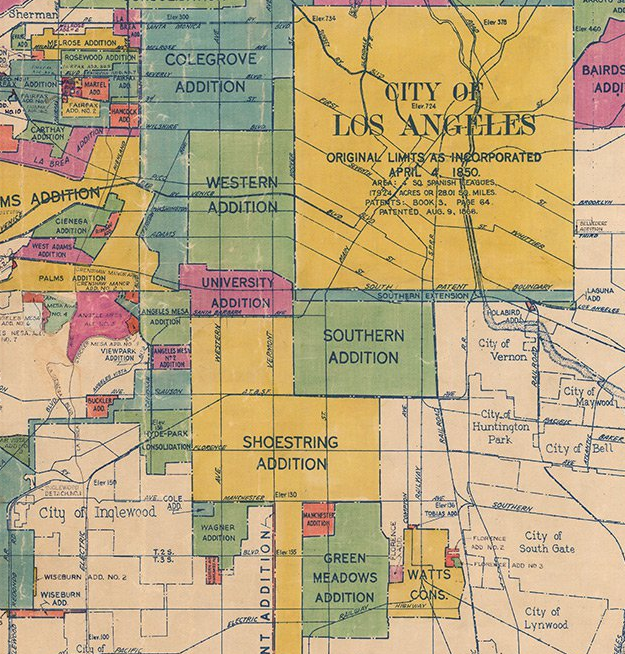 Mapping the Geography and History of South Los Angeles Eric Brightwell