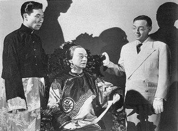 Philip Ahn (left) in Thank You, Mr. Moto (1937)