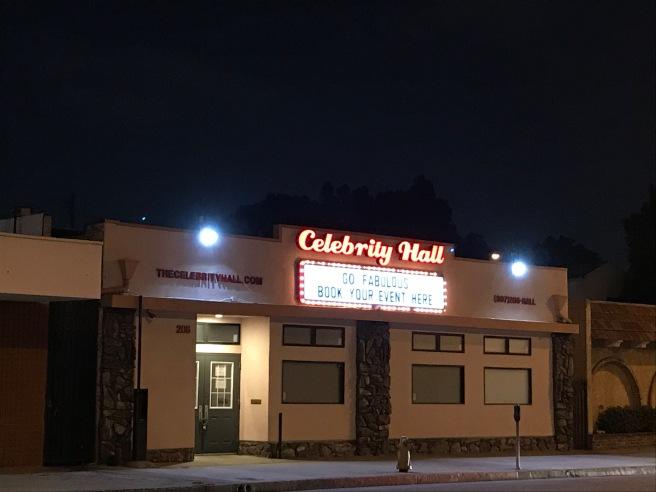 Celebrity Hall